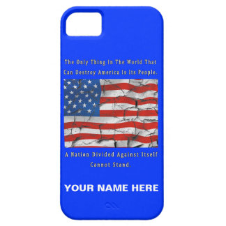 Coque Barely There iPhone 5 Une nation divisée