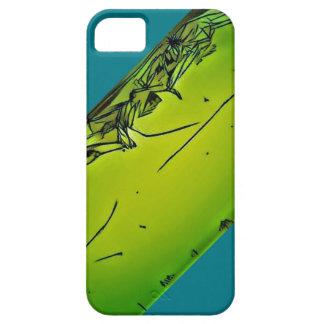 Coque Barely There iPhone 5 unique vert fou mot g puissant iphone de schéma