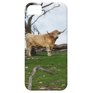 Coque Barely There iPhone 5 Vache des montagnes à faon,