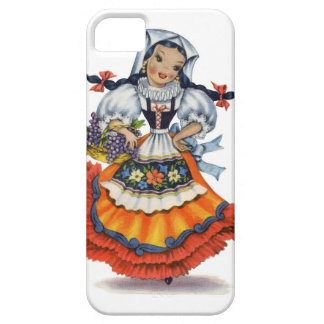 Coque Barely There iPhone 5 Vieille poupée espagnole