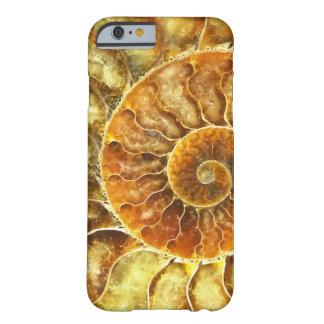 Coque Barely There iPhone 6 Abrégé sur art de Nautilus de plage