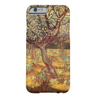 Coque Barely There iPhone 6 Abricotier de Van Gogh dans la fleur, beaux-arts