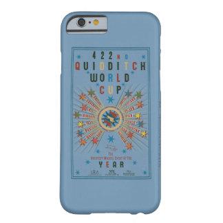 Coque Barely There iPhone 6 Affiche de bleu de coupe du monde de QUIDDITCH™