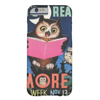 Coque Barely There iPhone 6 Affiche de la semaine du livre de 1955 enfants