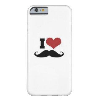 Coque Barely There iPhone 6 Amant de moustache