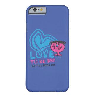 Coque Barely There iPhone 6 Amour à être mauvais coeur déformé par |