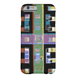 Coque Barely There iPhone 6 Appartements abstraits de ville