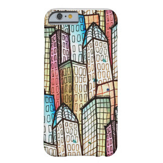 Coque Barely There iPhone 6 Architecture grave