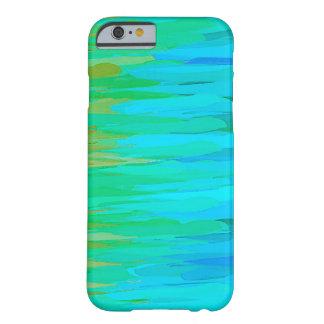 Coque Barely There iPhone 6 Arrière - plan abstrait coloré par aquarelle