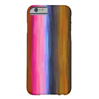 Coque Barely There iPhone 6 Arrière - plan abstrait coloré par pastel