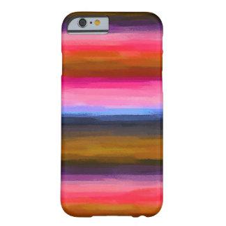 Coque Barely There iPhone 6 Arrière - plan abstrait coloré par pastel #2
