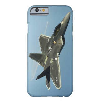 Coque Barely There iPhone 6 Avion de chasse F-22