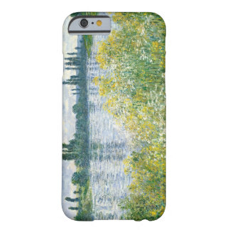 Coque Barely There iPhone 6 Banques de Claude Monet | de la Seine, Vetheuil,