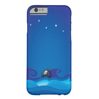Coque Barely There iPhone 6 Bateau de pirate à la mer orageuse