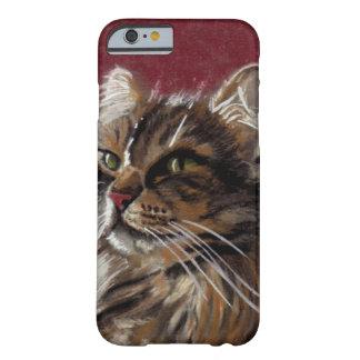 Coque Barely There iPhone 6 Beau cas de téléphone de ragondin du Maine de