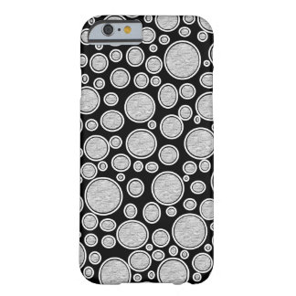 Coque Barely There iPhone 6 Bulles grises