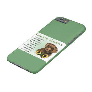 Coque Barely There iPhone 6 Cadeaux d'héritage de chiot de labrador retriever