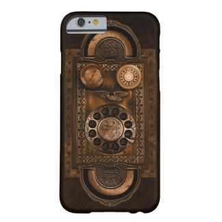 Coque Barely There iPhone 6 Cadran de téléphone de Steampunk, style vintage,