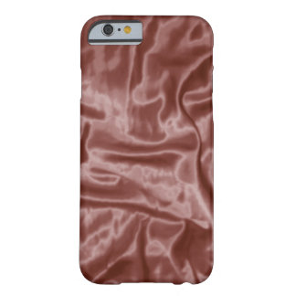 Coque Barely There iPhone 6 Caisse du Satin-iPhone 6 de chocolat