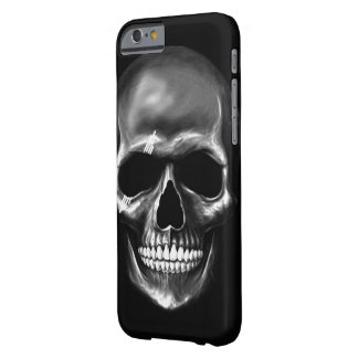 Coque Barely There iPhone 6 Caisse foncée de l'iPhone 6/6s de crâne