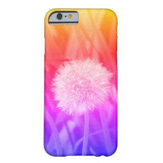 Coque Barely There iPhone 6 caisse multicolore de téléphone de pissenlit