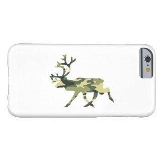 Coque Barely There iPhone 6 Camouflage/Camo de région boisée de renne/caribou