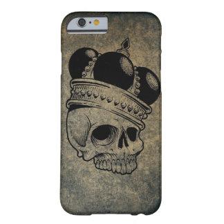 Coque Barely There iPhone 6 Cas couronné de téléphone de crâne à peine là