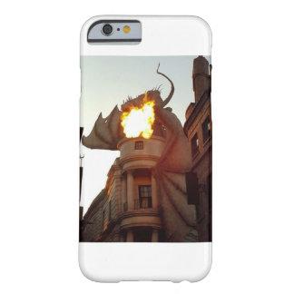 Coque Barely There iPhone 6 Cas de Feu-Respiration de téléphone de dragon