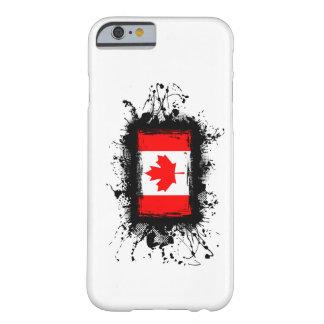 Coque Barely There iPhone 6 Cas de l'iPhone 6 de drapeau du Canada