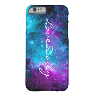 Coque Barely There iPhone 6 cas de LoveDaily de galaxie de l'iPhone 6