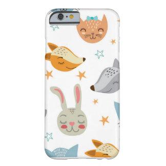 Coque Barely There iPhone 6 Cas de téléphone - animaux mignons