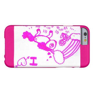 Coque Barely There iPhone 6 Cas de téléphone/cellules avec la licorne