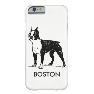 Coque Barely There iPhone 6 Cas de téléphone de Boston Terrier