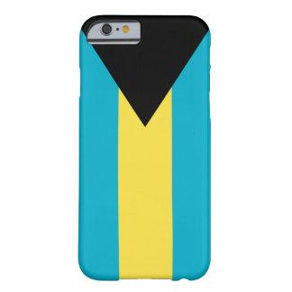 Coque Barely There iPhone 6 Cas de téléphone de drapeau des Bahamas