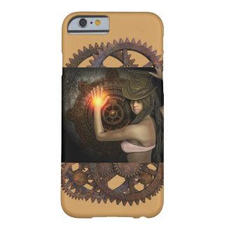 Coque Barely There iPhone 6 Cas de téléphone de femme de Steampunk