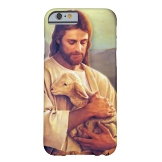 Coque Barely There iPhone 6 Cas de téléphone de Jésus et d'agneau
