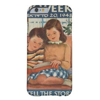 Coque Barely There iPhone 6 Cas de téléphone de la semaine du livre de 1948