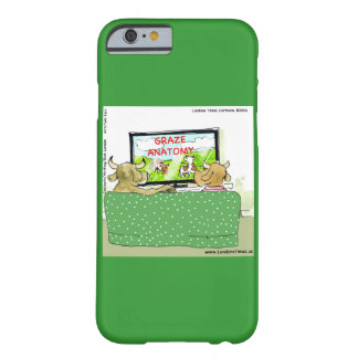 Coque Barely There iPhone 6 Cas drôle de l'iPhone 5 de bande dessinée de la