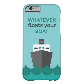 Coque Barely There iPhone 6 Cas orienté de téléphone de bateau