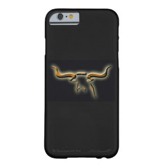 Coque Barely There iPhone 6 Cas simple de l'iPhone 6 de Longhorn à peine là