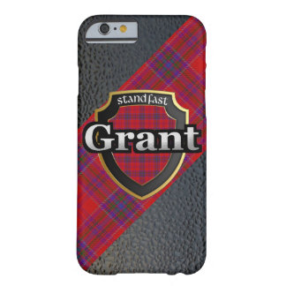 Coque Barely There iPhone 6 Célébration d'écossais de Grant de clan