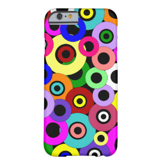 Coque Barely There iPhone 6 Cercles multicolores