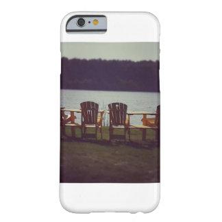 Coque Barely There iPhone 6 Chaises par le cas de téléphone de lac