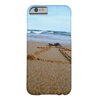 Coque Barely There iPhone 6 Chaque route mène à l'océan