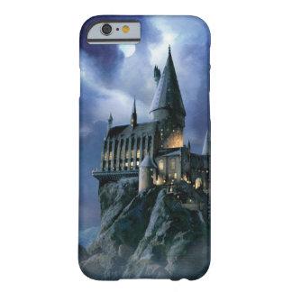 Coque Barely There iPhone 6 Château | Hogwarts éclairé par la lune de Harry