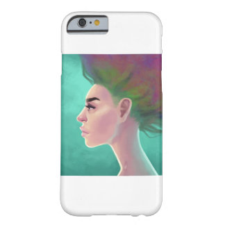 Coque Barely There iPhone 6 Cheveux d'arc-en-ciel