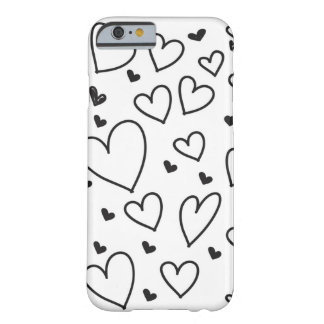 Coque Barely There iPhone 6 Coeurs