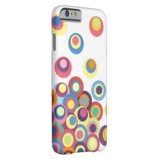 Coque Barely There iPhone 6 Conception moderne de cercle