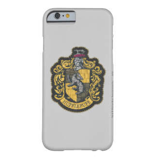Coque Barely There iPhone 6 Correction de crête de Harry Potter | Hufflepuff