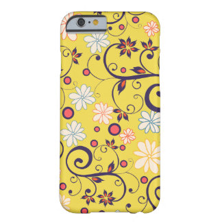 Coque Barely There iPhone 6 Couche Iphone 6 Jaunit Flores de mai